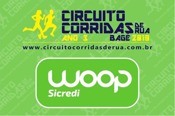 2ª Etapa - Circuito Corridas de Rua de Bagé 2019 - Ano 3 - Etapa WOOP Sicredi
